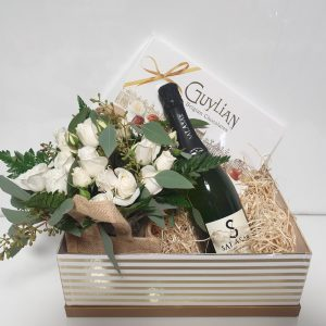 Valentine's Day Gift Box - White